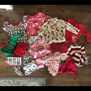 Toddler girl 2T Holiday Clothing Set